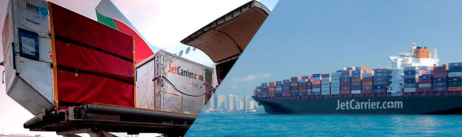 Fast and economic air- and sea freight